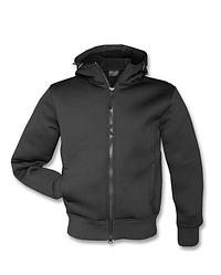 Куртка чоловіча демісезонна з капюшоном NEOPREN JACKE колір чорний Mil-Tec Німеччина