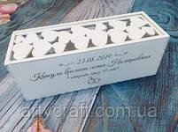 Коробка для вина Капсула времени (белая), фото 2