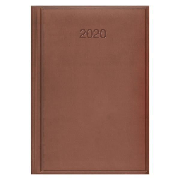 Ежедневник датированный BRUNNEN 2020 Стандарт Torino, бежево-розовый