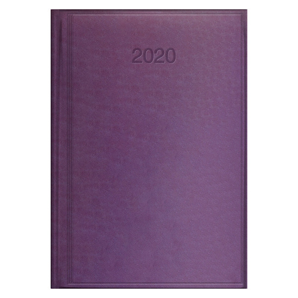 Ежедневник датированный BRUNNEN 2020 Стандарт Torino, сиреневый