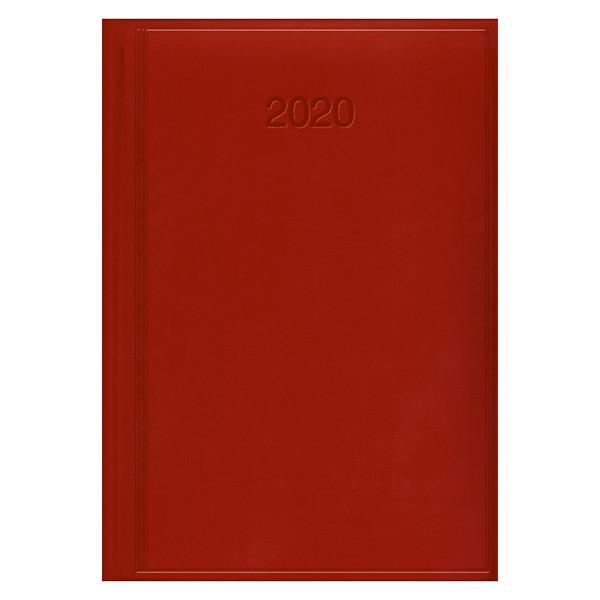 Ежедневник датированный BRUNNEN 2020 Стандарт Torino, ярко-красный