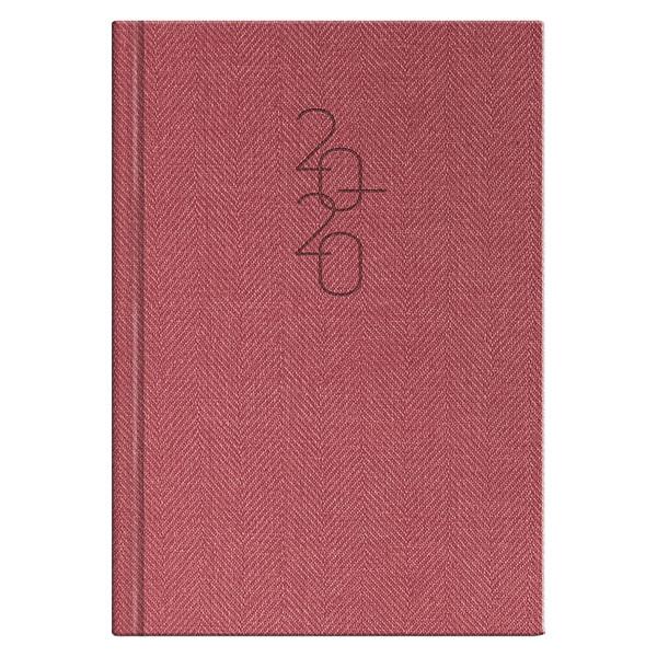 Ежедневник датированный BRUNNEN 2020 Стандарт Tweed красный