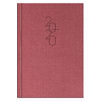 Ежедневник датированный BRUNNEN 2020 Стандарт Tweed красный, фото 1