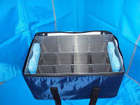 Сумка-холодильник  для транспортировки  материала в мерных флаконах С13