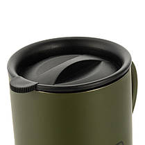 M-Tac термокружка 400 мл олива, фото 2