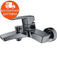 Смеситель для ванны Imprese Grafiky ZMK041807040 черный, фото 1