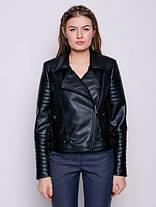Куртка высокого качества косуха черная, размеры 42 и 48, фото 2