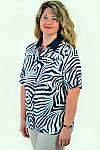 Блуза женская из хлопка стрейчевая , бл 056-2 ,48-56, фото 2