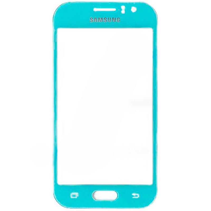 Стекло Samsung J110 (J1 Ace) Dark Blue