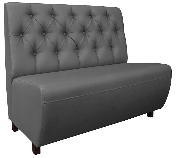 Диван Симпл Нью 120 см 1кат. серый