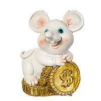"""Набор фигурок """"Веселая мышь с деньгами"""" 8 шт. (6*4см) 4 вида по 2шт, 017NK"""