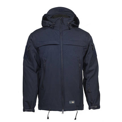 M-Tac куртка Soft Shell Police Navy Blue, фото 2