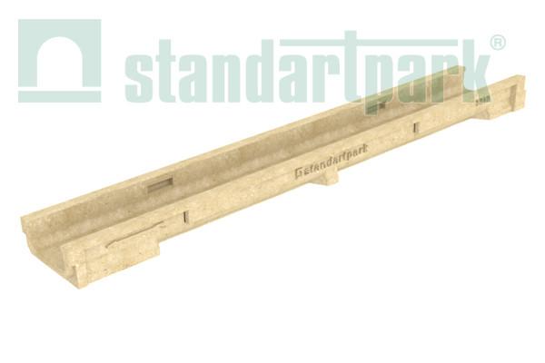 Лоток водоотводной CompoMax Basic ЛВ–10.14.06-П полимербетонный 7010