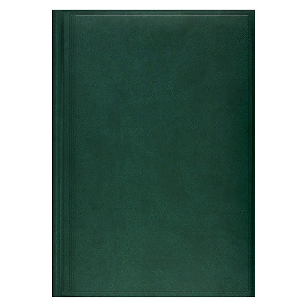 Ежедневник недатированный BRUNNEN Агенда Torino зеленый