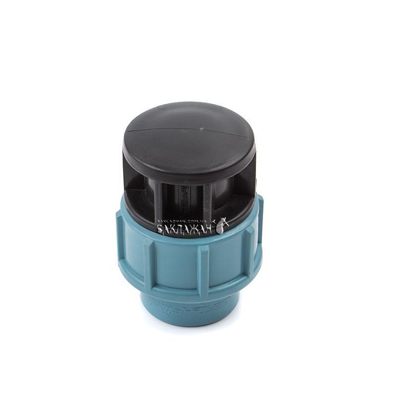 Заглушка 90 мм компрессионная для полиэтиленовой трубы ПНД