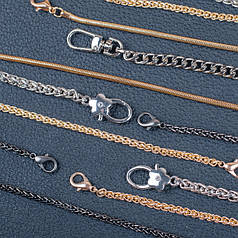 Декоративные цепочки для сумок