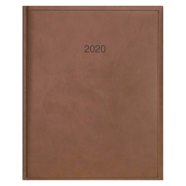 Еженедельник датированный BRUNNEN 2020 Бюро Torino, коричневый