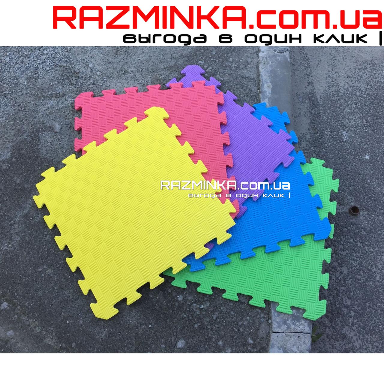 Напольное покрытие для детской игровой комнаты 500х500х10мм (1шт)
