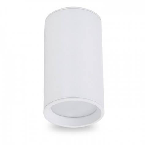Накладной светильник цилиндр Feron ML301 под лампу MR16 GU10 белый 56*100мм, фото 2
