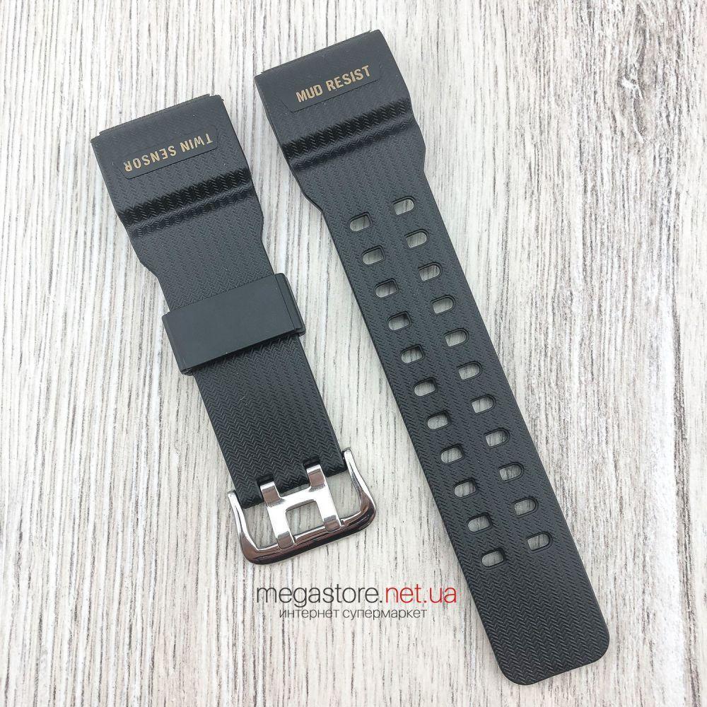 Ремешок для часов Casio GG-1000/GWG-100/GSG-100 G-Shock полимерный черный (08253)
