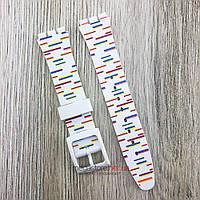 Ремешок для часов Swatch 17 мм силиконовый разноцветный (08260), фото 1