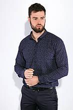 Рубашка мужская AG-0010764 Темно-синий
