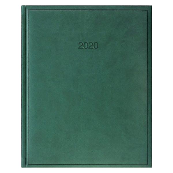 Еженедельник датированный BRUNNEN 2020 Бюро Torino, зеленый