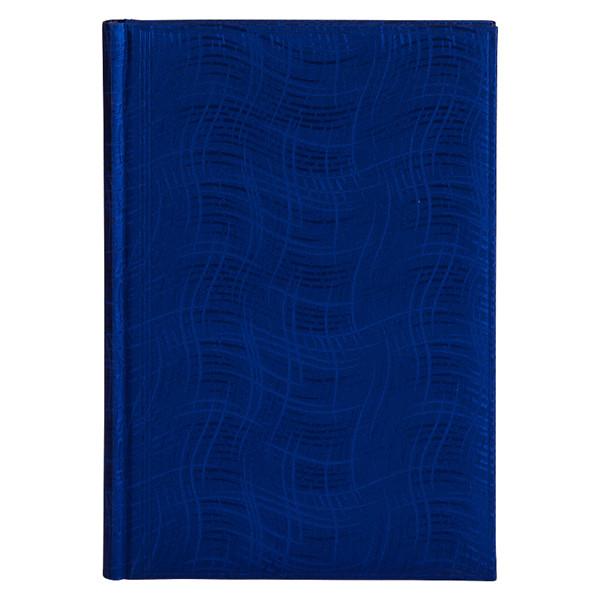Ежедневник недатированный BRUNNEN Агенда Wave синий