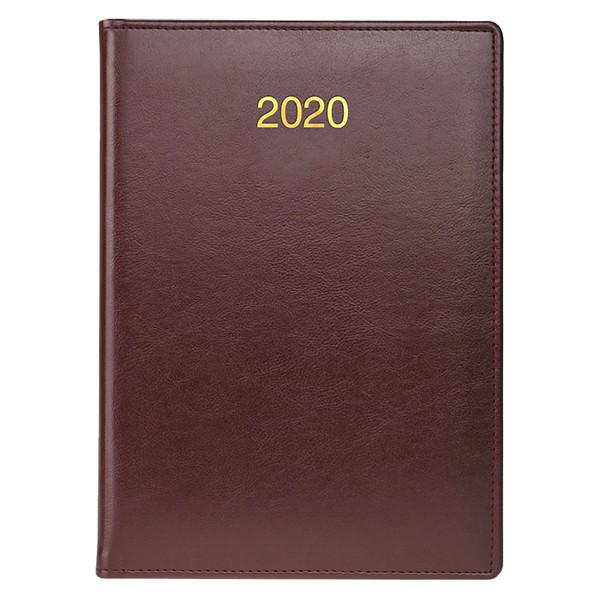 Ежедневник датированный BRUNNEN 2020 Стандарт Soft, бордовый