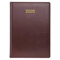 Ежедневник датированный BRUNNEN 2020 Стандарт Soft, бордовый, фото 1