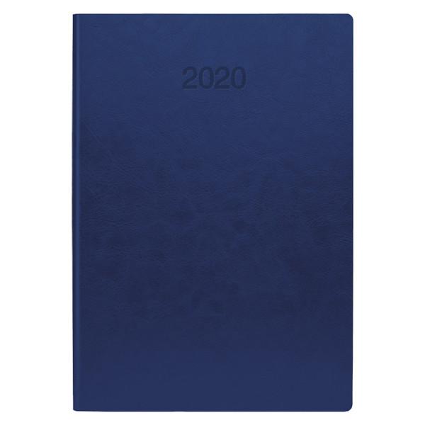 Ежедневник датированный BRUNNEN 2020 Стандарт Flex, ярко-синий