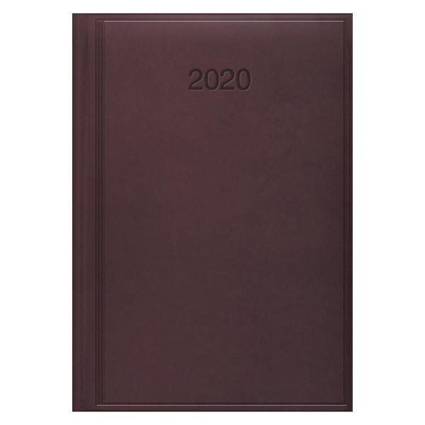 Ежедневник датированный BRUNNEN 2020 Стандарт Torino, марсала
