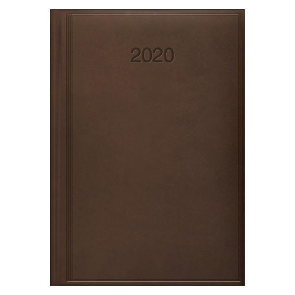 Ежедневник датированный BRUNNEN 2020 Стандарт Torino, коричневый