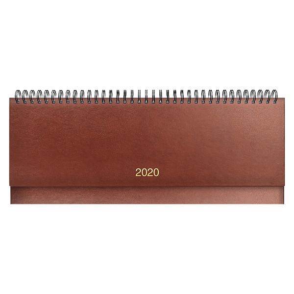 Планинг датированный BRUNNEN 2020 Miradur, коричневый