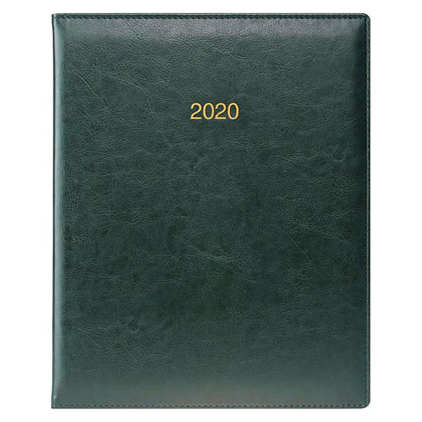 Еженедельник датированный BRUNNEN 2020 Бюро Soft, зеленый