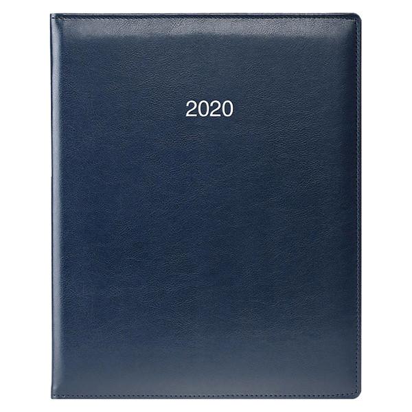 Еженедельник датированный BRUNNEN 2020 Бюро Soft, синий