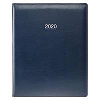 Еженедельник датированный BRUNNEN 2020 Бюро Soft, синий, фото 1