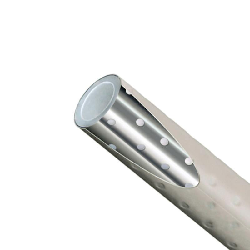 Полипропиленовая незачистная (PPR Stabi) труба для отопления 20 мм