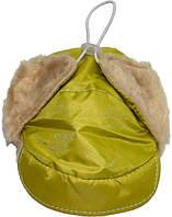 Шапка ушанка для собаки мех 28 см