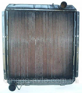 Радиатор охлаждения КамАЗ-5320 медный (3-х рядн.) (пр-во ПРАМО)