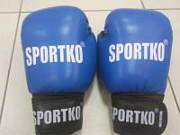 Боксерские перчатки SPORTKO 10 oz, 12oz ФБУ кожа