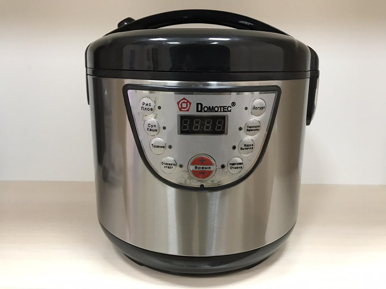 Мультиварка Domotec MS 7722 5л (9 программ), пароварка, рисоварка, йогуртница