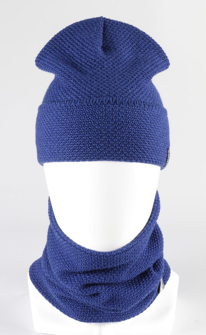 Комплект зимний шапка хомут KANTAA электрик