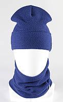 Комплект зимний шапка хомут KANTAA электрик, фото 1