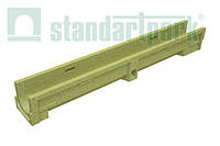 Лоток водоотводной CompoMax Basic ЛВ–10.14.13-П полимербетонный 7000