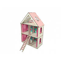 "Домик для кукол LOL ""LITTLE FUN MAXI"" с обоями и шторками (620х200х400 мм)"