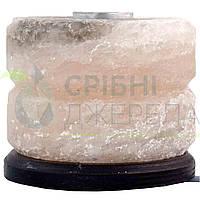 Соляна лампа SaltLamp Свічка-арома 2 кг