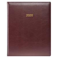 Еженедельник датированный BRUNNEN 2020 Бюро Soft, бордовый, фото 1