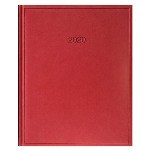 Еженедельник датированный BRUNNEN 2020 Бюро Torino, красный