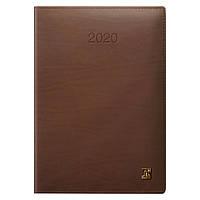 Ежедневник датированный BRUNNEN 2020 Стандарт LaFontaine, коньячный, фото 1